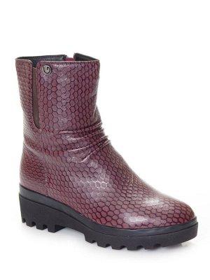 Ботинки Страна производитель: Китай Размер женской обуви x: 35 Полнота обуви: Тип «F» или «Fx» Сезон: Зима Вид обуви: Полусапоги Материал верха: Натуральная кожа Материал подкладки: Натуральный мех Ка