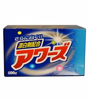JP/ Rocket Soap Enzyme Blend Awa's EX Стиральный порошок Отбеливающий, 400гр