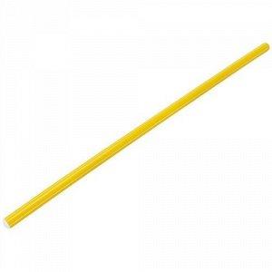 Палка гимнастическая 80 см. цв. желтый