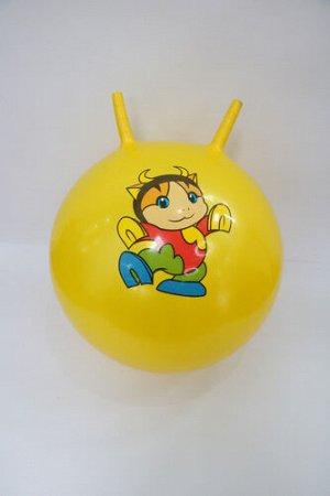 Мяч с рожками 50 см, цвет в ассорт.