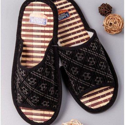 ТМ *РусБубон*. Зима , Демисезон, Новиночки. — Мужская домашняя обувь — Тапочки