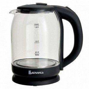 Чайник электрический 1500 Вт, 1,8 л ВАСИЛИСА ВА-1034 черный