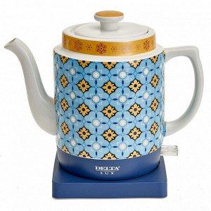 Чайник электрический 1500 Вт 1,8 л DELTA LUX DE-1008 на подставке