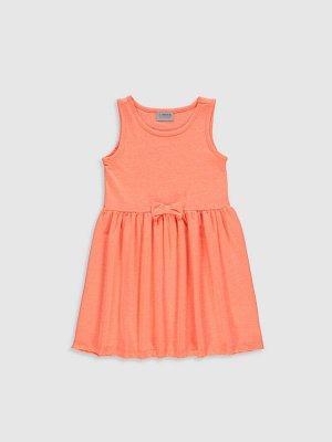 Платье Тип товара: Платье Материал: 100% хлопок Узор: Полосатое РАЗМЕР: 9-10 лет, 2-3 года, 3-4 года, 4-5 лет, 5-6 лет, 6-7 лет, 7-8 лет, 8-9 лет; ЦВЕТ: Orange СОСТАВ: Основной материал: 47% Хлопок 53