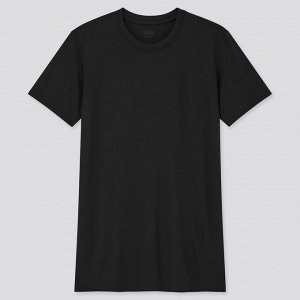 Мужская футболка Heat Tech Crew Neck, черный