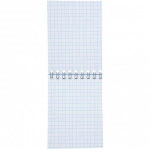 ClipStudio Блокнот А7 40 листов, офсет, обложка картон, спираль, в клетку, 16 дизайнов