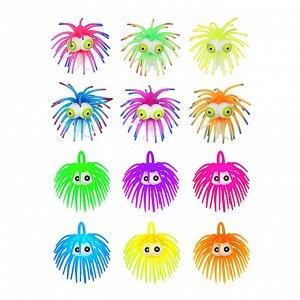 LASTIKS Игрушка пушистая резиновая, 8-11см, резина, 6 цветов