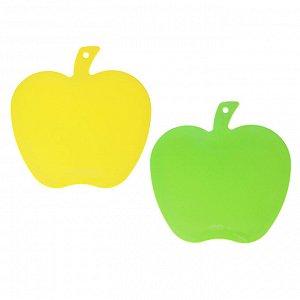 VETTA Доска разделочная, пластик, фигурная в форме яблока, 26x25x0,3см, 896964