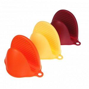 VETTA Прихватка силиконовая термостойкая, 3 цвета, HS-002A