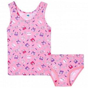 Комплект Elephant для девочки (цвет розовый) 92размер