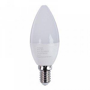 С FORZA Лампа светодиодная свеча С37 5W, E14, 420lm 4000К