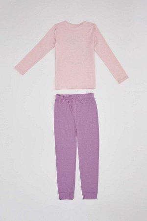 Костюм пижамный с единорогом