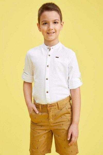DEFACTO - детская коллекция.Распродажа в каждой коллекции    — Мальчики 3-14лет рубашки — Рубашки