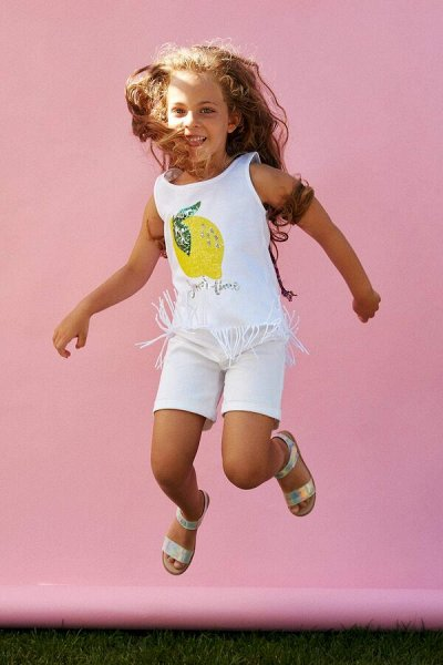 DEFACTO - детская коллекция.Распродажа в каждой коллекции    — Девочки 3-14 лет топы и майки — Футболки, топы