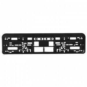 NG Рамка номерного знака, пластик, 53,6x13,1см, черная