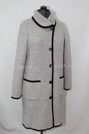 Пальто ж0350 сур.кофе_чёрный