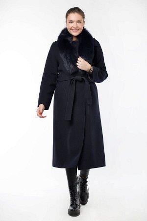 Пальто женское утепленное ( пояс)