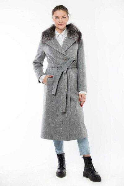 Империя пальто, демисезонные куртки — Пальто утепленные с натуральным мехом — Утепленные пальто