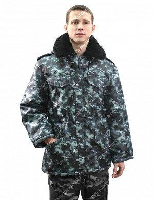 Куртка детская Зима цв.Серый КМФ