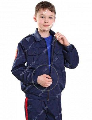 Костюм Кадет-старшеклассник тк.Смесовая цв.Синий