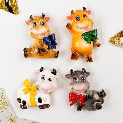🎄Волшебство! Елочки! *★* Новый год Спешит! ❤ 🎅 — Магниты С Коровами 8 рублей! Магнитная рамка — Все для Нового года