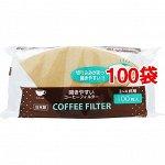 Фильтр-пакетики для кофе 100 шт.