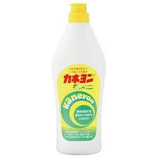 Крем чистящий для кухни / микрогранулы «Kaneyon» (с ароматом лимона) 550 г / 24