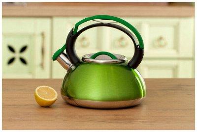#Осенние новинки💥Набор сковородок AMERCOOK от 399 руб -5!  — Эмалированные чайники — Электрические чайники и термопоты