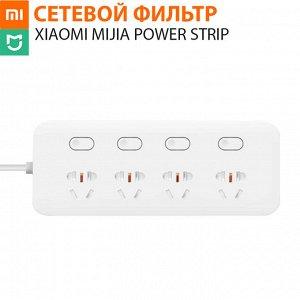 Сетевой фильтр Xiaomi Mijia Power Strip 4 розетки