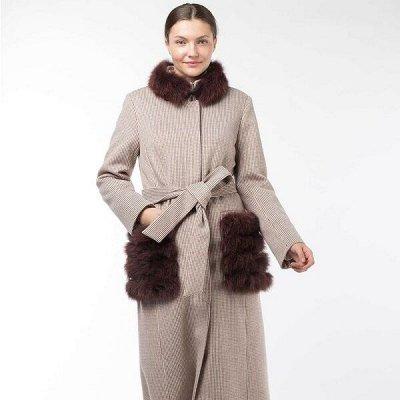 Империя пальто, демисезонные куртки — Пальто утепленные с мехом — Утепленные пальто