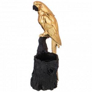 Подсвечник 'попугай' 9,5*7 см. высота=19,5 см. (кор=16шт.)