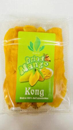 Натуральное сушёное Манго Kong, без сахара.