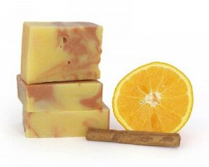 Мыло Апельсин и Корица (подарочная коробочка), 100гр