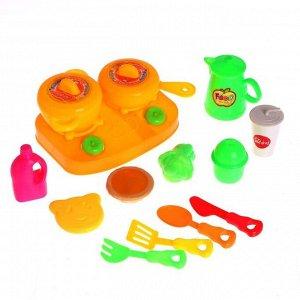 Набор посуды «Готовим ужин» с продуктами