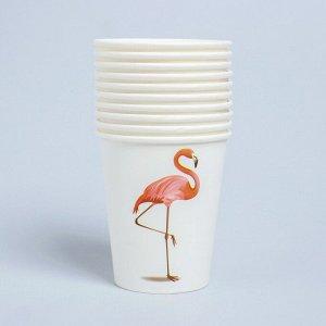 Стаканы «Фламинго», 250 мл, набор 10 шт.