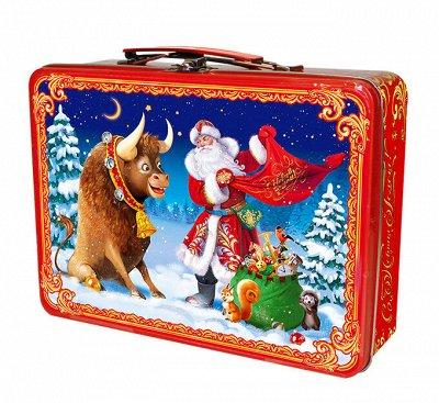 Подарки от министерства сладостей. Подарки без карамели!  — Подарки в упаковке из жести — Все для Нового года