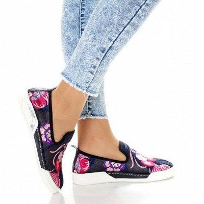 Обувь + без рядов! Шикарные новинки осень-зима 2020!  — Балетки и мокасины — Балетки