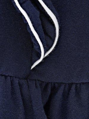 Платье (98-122см) UD 1541 синий