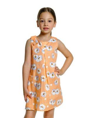 Платье (98-116см) UD 3271 персик