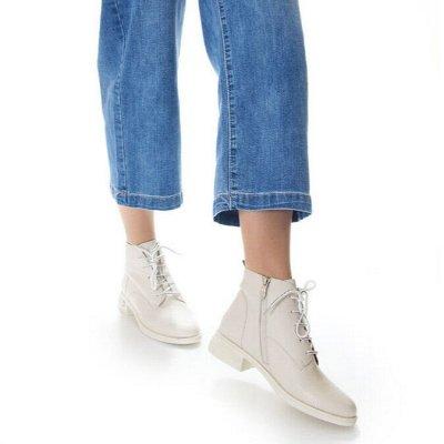 Обувь + без рядов! Шикарные новинки осень-зима 2020!  — Полусапоги, ботинки  демисезонные — Полусапожки