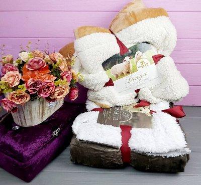 🌃Сладкий сон! Постельное белье, Подушки, Одеяла 💫 — Пледы. Мягкие и теплые! — Пледы