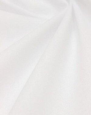 Поплин цв.Белый (оптически отбеленный), ш.2.2м. хлопок-100%, 125гр/м.кв