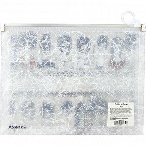 Папка на молнии zip-lock Axent BBH 1498-05-A, А5+