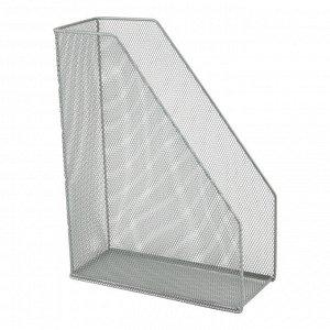 Лоток вертикальный металлический Axent 2120-03-A, 100x250x320 мм, серебристый