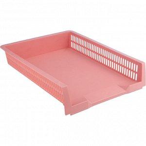 Лоток горизонтальный Axent Pastelini 4040-10-A, розовый
