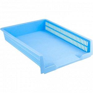 Лоток горизонтальный Axent Pastelini 4040-22-A, голубой