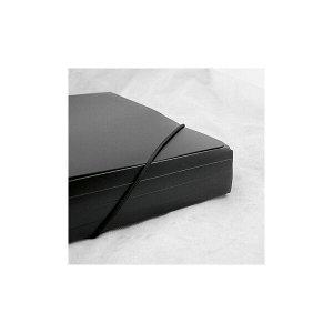 Папка на резинках Axent 1506-01-A, А3, черная