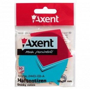 Блок бумаги с липким слоем Axent 2443-03-A, 70x70 мм, 50 листов, фраза