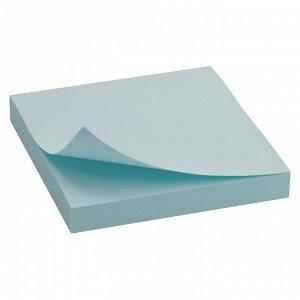 Блок бумаги с липким слоем Delta D3314-04, 75x75 мм, 100 листов, синий