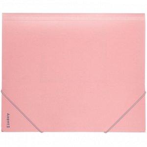 Папка на резинках Axent Pastelini 1514-10-A, А5, розовая